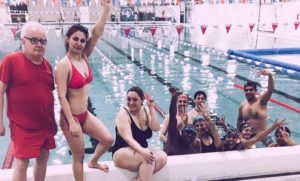 New start in the water. Two stories from our new graduates.